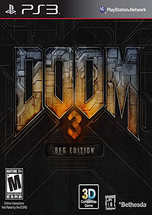 PS3 DOOM 3 BFG EDITION