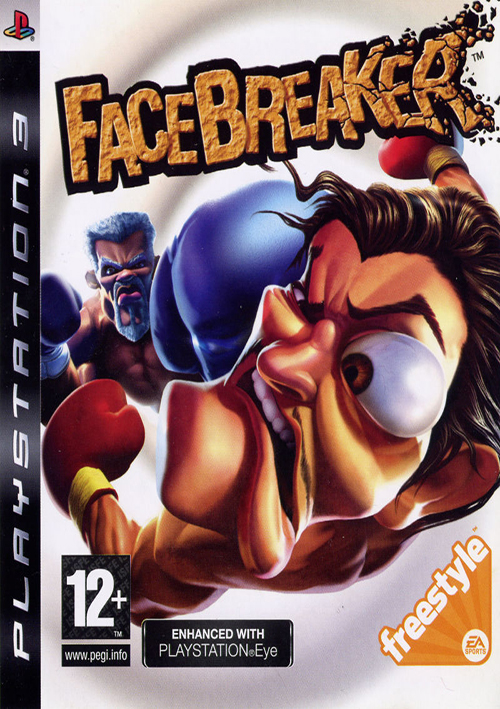 PS3 FACEBREAKER