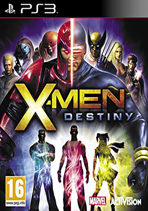 PS3 XMEN DESTINY