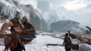 God of war game play screenshot